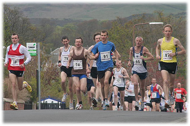 10k Road Race runners in 2010.