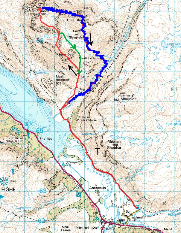 Slioch Race Route 2016