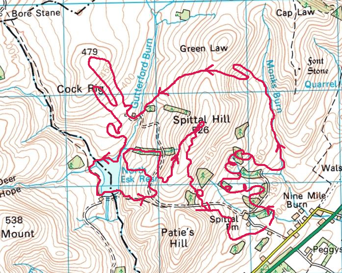 The Spartan Beast Route - sort of!